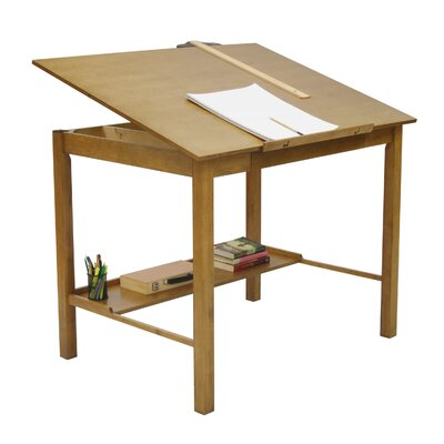 Studio Designs Americana II Tempered Glass Drafting Table