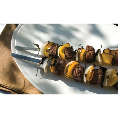 Charcoal Companion Steven Raichlen Signature Stainless Steel Skewers