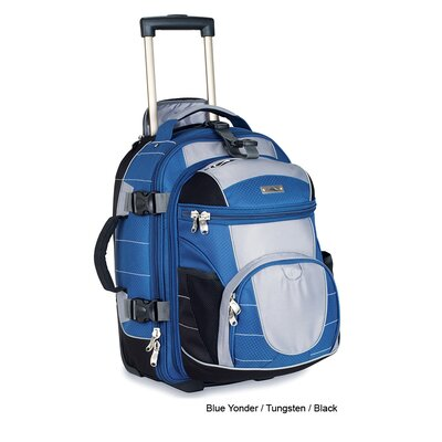 A.T Gear Ultimate Access Carry On Wheeled Backpack with Removable Daypack