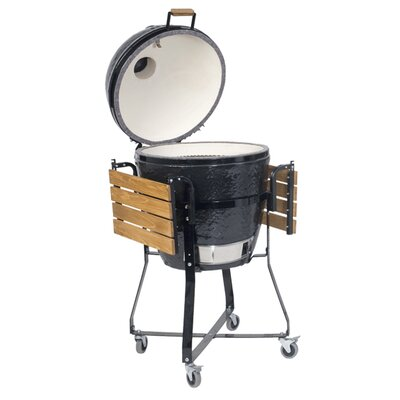 Primo Grills Kamado Round Grill and Smoker