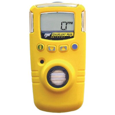 BW Technoligies Extreme Portable Gas Monitor For Carbon Monoxide With Yellow Housing