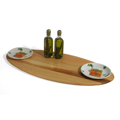 J.K. Adams Bread and Oil Maple Double Dish Board Gift Set