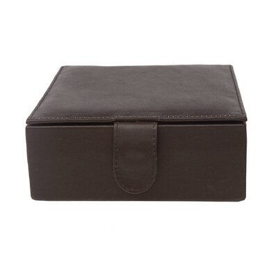 Multi-Use Large Leather Box