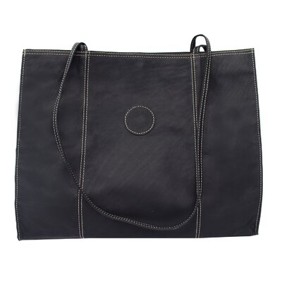 Piel Leather Carry-All Market Shopping Tote