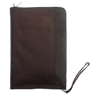 Piel Leather Zip Around Envelope