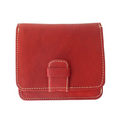 Piel Leather Bi-fold Ladies Wallet