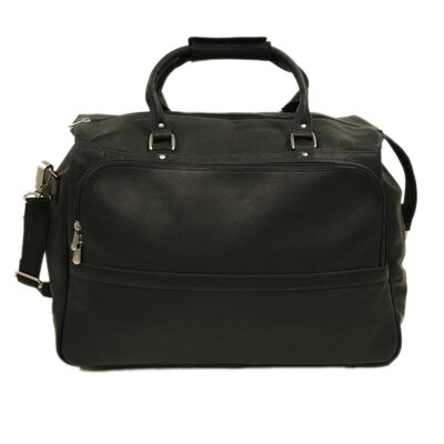 "Piel Leather Traveler 18.5"" Classic Leather Carry-On Duffel"