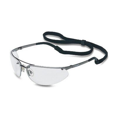 Fuse™ Safety Glasses With Gunmetal Frame And Clear Hard Coat Lens
