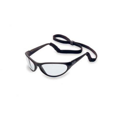 Prevail® Safety Glasses With Clear Lens And Black Frame