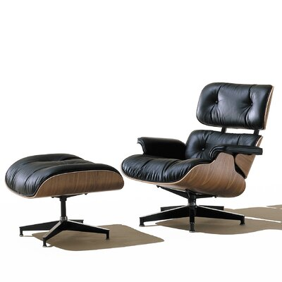 Herman Miller ® Eames Chair and Ottoman Classic Edition