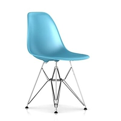 Herman Miller 174 Eames Dsr Molded Plastic Side Chair With