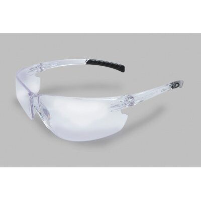Radnor Series Safety Glasses With Clear Frame And Clear Lens