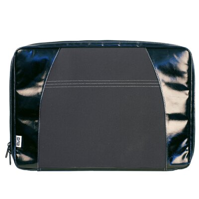 Digi Dude Canvas Laptop Sleeve in Black Coated / Black