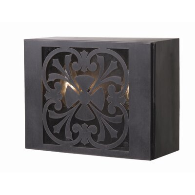 World Imports Sevilla  Outdoor Wall Sconce in Bronze