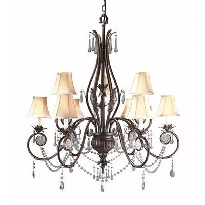 World Imports Berkeley Square 9 Light Chandelier