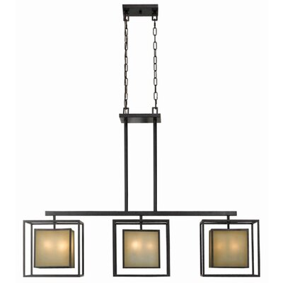 World Imports Hilden 9 Light Kitchen Island Pendant
