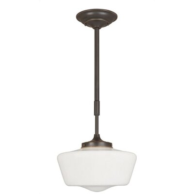 World Imports Luray 1 Light Schoolhouse Pendant