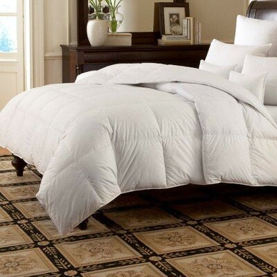 Downright LOGANA Batiste Medium 980 White Goose Down Pillow