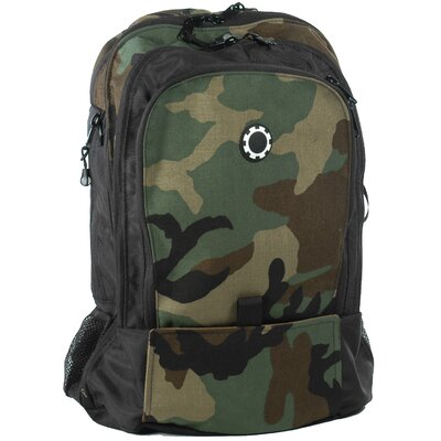 DadGear Camoflage Backpack Diaper Bag