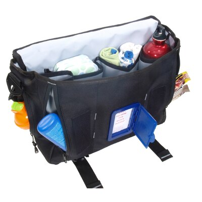 DadGear Professional Messenger Diaper Bag