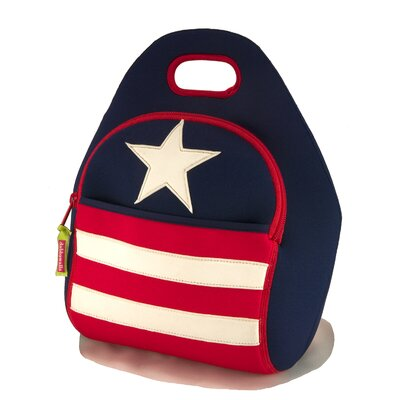 Dabbawalla Bags Stars and Stripes Lunch Bag