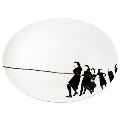 Ink Dish Tug Serving Platter