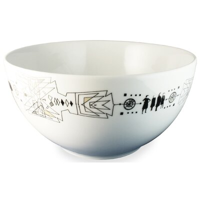 "Ink Dish Tug 10"" Serving Bowl"
