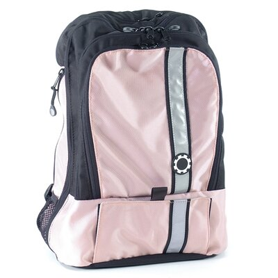 Retro Stripe Backpack Diaper Bag