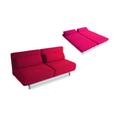 New Spec Inc Fabric Convertible Sofa