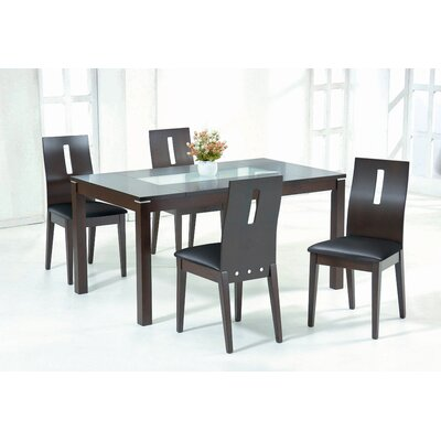 New Spec Inc Cafe-48 Soho 5 Piece Dining Set