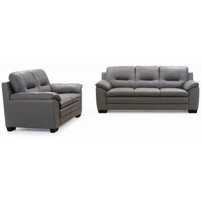 New Spec Inc Emma Sofa and Loveseat Set