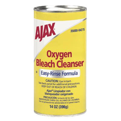 Ajax Oxygen Bleach Easy-Rinse Formula Powder Cleanser Canister