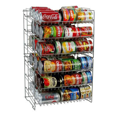 Atlantic Six Shelf Canrack
