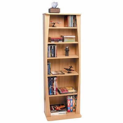 Canoe Multimedia Wood Storage Rack