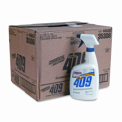 FORMULA 409 Formula 409 Cleaner/Degreaser, 32oz Trigger Spray Bottle, 12/carton