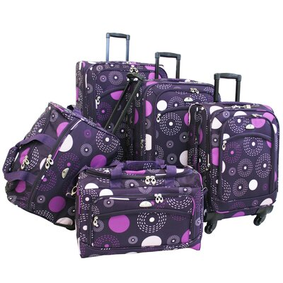 Fireworks 5 Piece Spinner Luggage Set