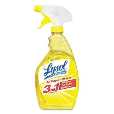 Lysol All-Purpose Cleaner, Lemon, 32oz Spray Bottle