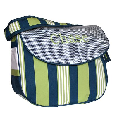 Lacrosse Personalized Messenger Diaper Bag