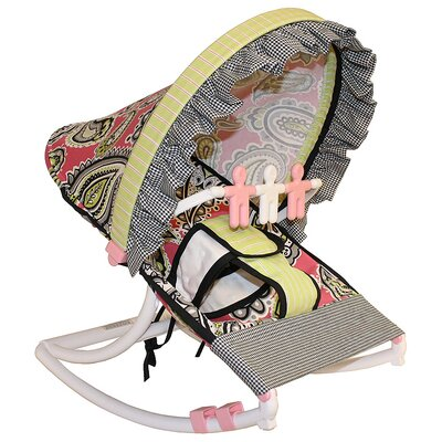 Pink Whimsey Rocking Infant Seat