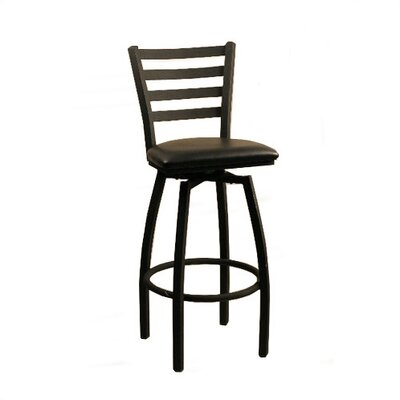 "Alston Swivel Bar Stool - 30"" Empress Ladder Back"