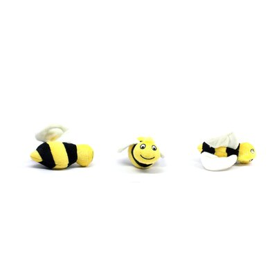 Kyjen Plush Puppies Hide a Bee Dog Toy