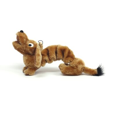 Kyjen Plush Puppies Bungee Weiner Dog Toy