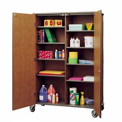 Fleetwood Split Storage Cabinet with Casters