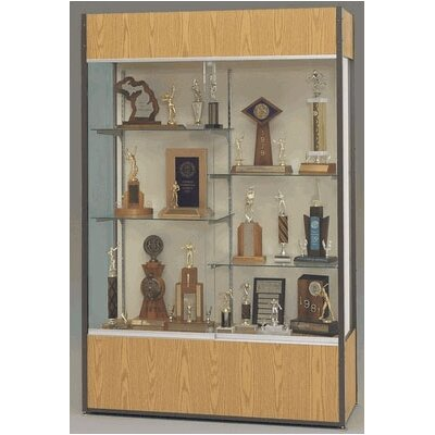 Fleetwood Trophy and Art Display Case with Half Width Shelves