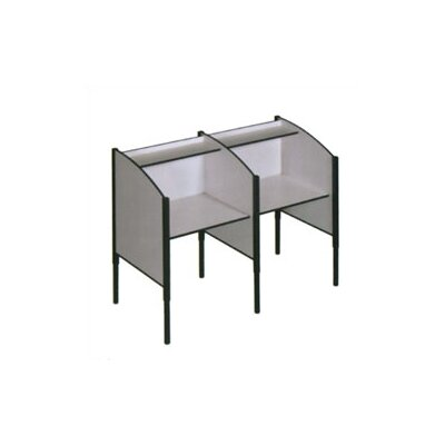 Fleetwood H Single Sided Study Carrel Starter