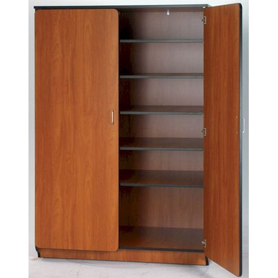 "Fleetwood Illusions 72"" H Teacher Shelf/Drawer Cabinet with Five Adjustable Shelves"