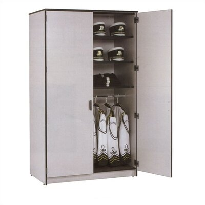 "Fleetwood Harmony 48"" W Folio Storage Cabinet with Three Columns and Optional Doors"