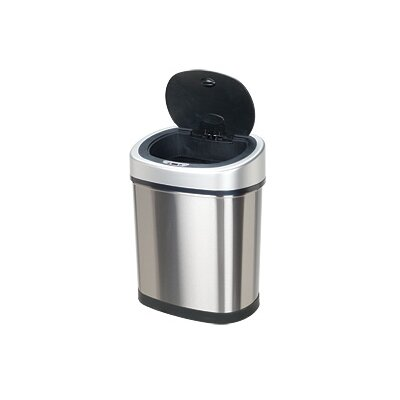 Nine Stars 11.1 Gallon Stainless Steel Motion Sensor Trash Can