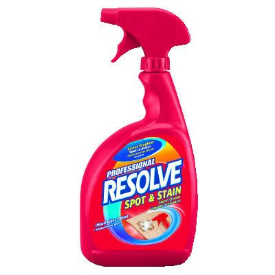 Resolve Spot and Stain Carpet Cleaner, 32 oz., 12/Carton