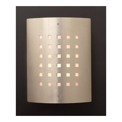 PLC Lighting Figaro 1 Light Outdoor Wall Sconce